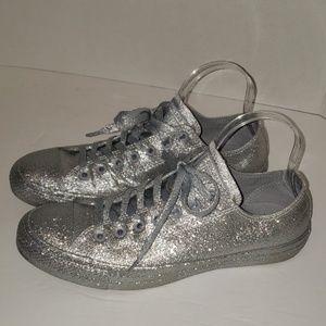CONVERSE ALL STAR Glitter Shoes size M9/W11